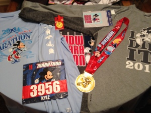 Shirts & other items from WDW Marathon